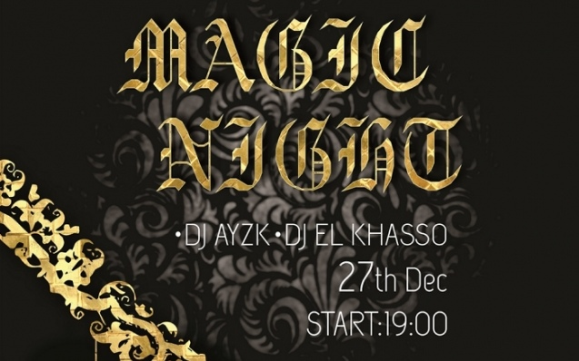 new year magic night
